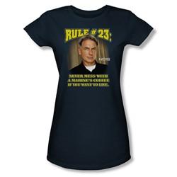 Cbs - Rule 23 Juniors T-Shirt In Navy