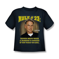 Cbs - Rule 23 Little Boys T-Shirt In Navy