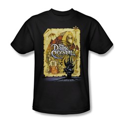 The Dark Crystal - Dark Crystal Poster Adult T-Shirt In Black
