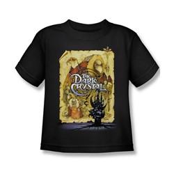 The Dark Crystal - Dark Crystal Poster Little Boys T-Shirt In Black