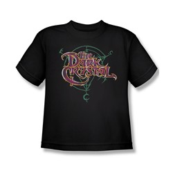 The Dark Crystal - Symbol Logo Big Boys T-Shirt In Black
