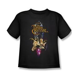 The Dark Crystal - Crystal Quest Little Boys T-Shirt In Black