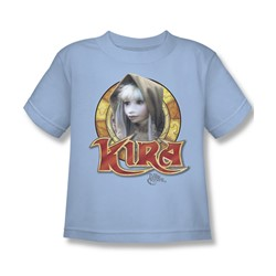 The Dark Crystal - Kira Circle Little Boys T-Shirt In Light Blue