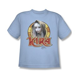 The Dark Crystal - Kira Circle Big Boys T-Shirt In Light Blue
