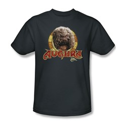 The Dark Crystal - Aughra Circle Adult T-Shirt In Charcoal