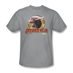 The Dark Crystal - Mystics Circle Adult T-Shirt In Silver