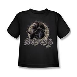 The Dark Crystal - Skeksis Little Boys T-Shirt In Black