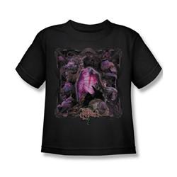 The Dark Crystal - Lust For Power Little Boys T-Shirt In Black