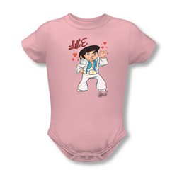 Elvis - Lil' E Infant T-Shirt In Pink