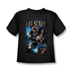 Farscape - Comic Cover Juvy T-Shirt In Black