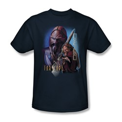 Farscape - D'Argo Adult T-Shirt In Navy