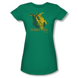 Farscape - Nobody's Puppet Juniors T-Shirt In Kelly Green