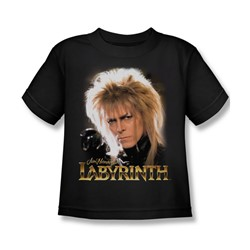 The Labyrinth - Jareth Little Boys T-Shirt In Black