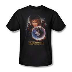 The Labyrinth - I Have A Gift Adult T-Shirt In Black