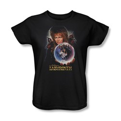 The Labyrinth - I Have A Gift Womens T-Shirt In Black
