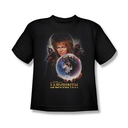 The Labyrinth - I Have A Gift Big Boys T-Shirt In Black