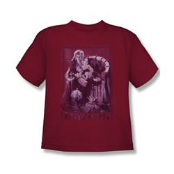The Labyrinth - Goblin Baby Big Boys T-Shirt In Cardinal