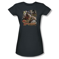 The Labyrinth - Sir Didymus Juniors T-Shirt In Charcoal