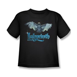 The Labyrinth - Title Sequence Little Boys T-Shirt In Black