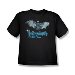 The Labyrinth - Title Sequence Big Boys T-Shirt In Black