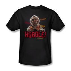 The Labyrinth - Hoggle Adult T-Shirt In Black