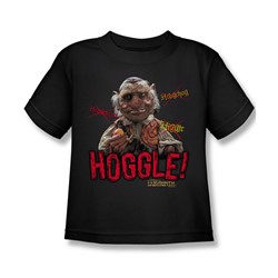 The Labyrinth - Hoggle Little Boys T-Shirt In Black