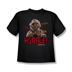 The Labyrinth - Hoggle Big Boys T-Shirt In Black