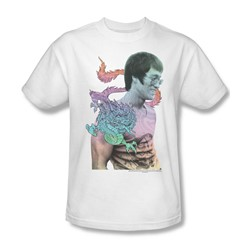 Bruce Lee - A Little Bruce Adult T-Shirt In White