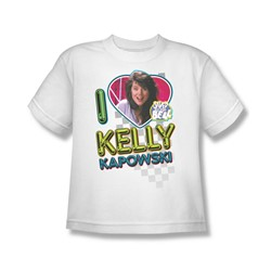Nbc - I Love Kelly Big Boys T-Shirt In White