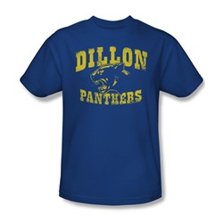 Nbc - Dillon Panthers Adult T-Shirt In Royal Blue