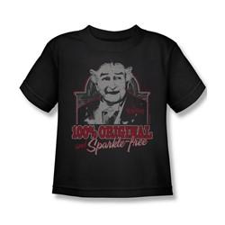 Nbc - 100% Original Little Boys T-Shirt In Black