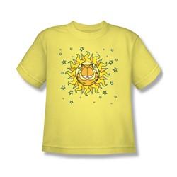 Garfield - Celestial Big Boys T-Shirt In Navy