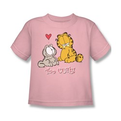 Garfield - Too Cute Little Boys T-Shirt In Pink