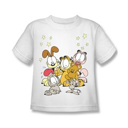 Garfield - Friends Are Best Little Boys T-Shirt In White