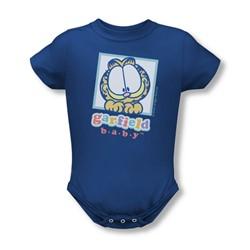 Garfield - Baby Garfield Infant T-Shirt In Royal Blue