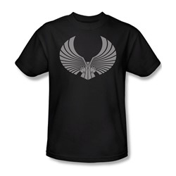 Star Trek - St: Next Gen / Romulan Logo Adult T-Shirt In Black