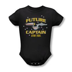Star Trek - Future Captain Infant T-Shirt In Black