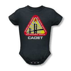Star Trek - Starfleet Cadet Infant T-Shirt In Charcoal