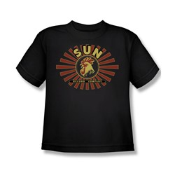 Sun Records - Sun Ray Rooster Big Boys T-Shirt In Black