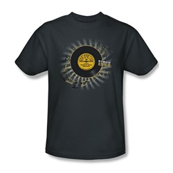 Sun Records - Established Adult T-Shirt In Charcoal
