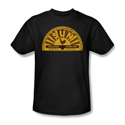 Sun Records - Traditional Logo Adult T-Shirt In Black