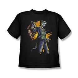 Batman - Joker Bang Big Boys T-Shirt In Black
