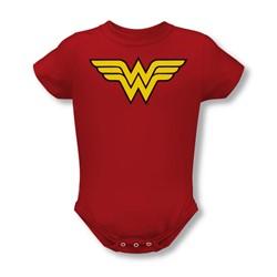 Dc Comics - Wonder Woman Logo Infant T-Shirt In Red