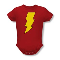 Dc Comics - Shazam Logo Infant T-Shirt In Red
