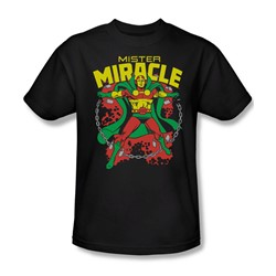 Dc Comics - Mr. Miracle Adult T-Shirt In Black