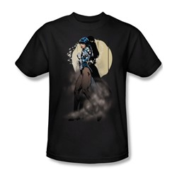 Justice League - Zatanna Illusion Adult T-Shirt In Black