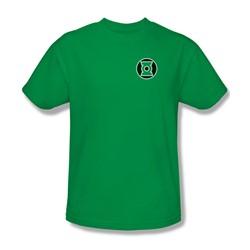 Green Lantern - Kyle Rayner Logo Adult T-Shirt In Kelly Green