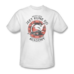 Bruce Lee - Jeet Kune Do Adult T-Shirt In White