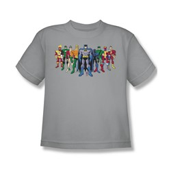 Batman - Pick Your Hero Youth T-Shirt In Silver