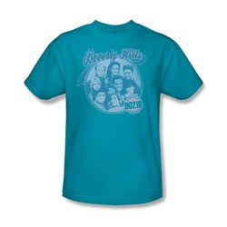 Beverly Hills 90210 - Circle Of Friends Adult T-Shirt In Turquoise